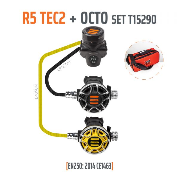 Tecline R5 TEC2 plus Octo Set