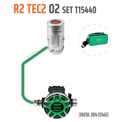 Tecline R2 TEC2 Oxygen Set