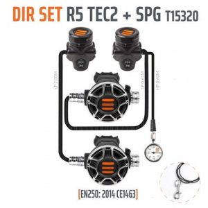Tecline DIR Set R5 TEC2 plus SPG