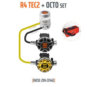 Tecline R4 TEC2 plus Octo set